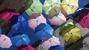 貸していた傘